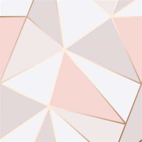 pattern geometric pink pink and rose gold wallpaper geometric pattern apex by