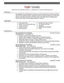 mechanic resume skills best resume gallery