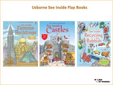 Second Get Inside Books by World Of Wonders Usborne See Inside Flap Books 21 Titles