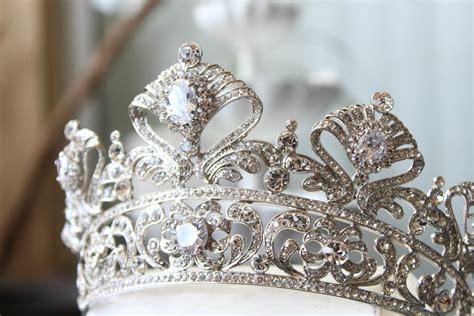 Wedding Crown bridal crown swarovski crown cordelia crown