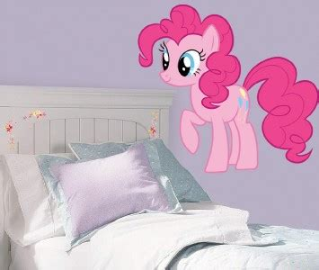 my little pony bedroom decor pinkie pie my little pony decal removable wall sticker