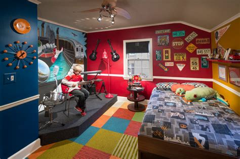 musicians bedroom eclectic chicago by