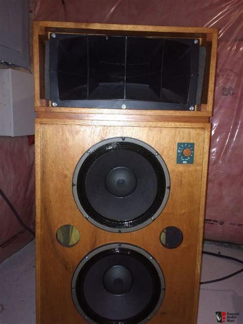 home audio speaker cabinets altec lansing 9844 components wood veener speaker cabinet