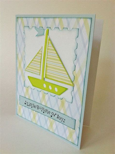 Handmade Baby Announcement Cards - 1000 images about nautical baby shower on