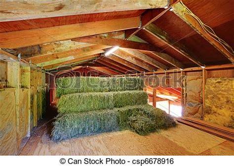 scheune heu bauernhof dach heu unter bedeckt scheune bauernhof
