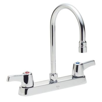 delta commercial kitchen faucets delta commercial 26c3943 teck r series two handle