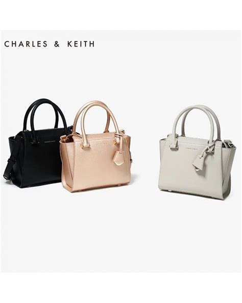 Sling Bag Charles Keith charles keith ck signature city bag tote sling handbag