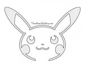 pokemon pikachu stencil 02 free stencil gallery