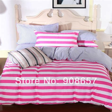 discount bedding online online cheap 2014 new discount bedding pink white striped