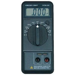 capacitor meter check capacitance meter active tech electronics distributor