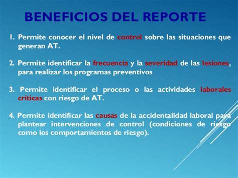 reporte de riesgos de trabajo reporte de accidente de trabajo