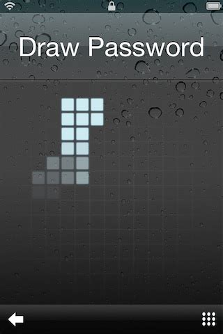 pattern password tweak stride unlock your iphone with impeccable style