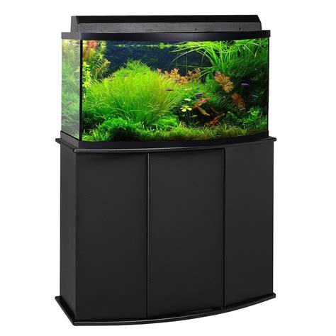 petco prices aquatic fundamentals 46 gallon bowfront aquarium stand petco