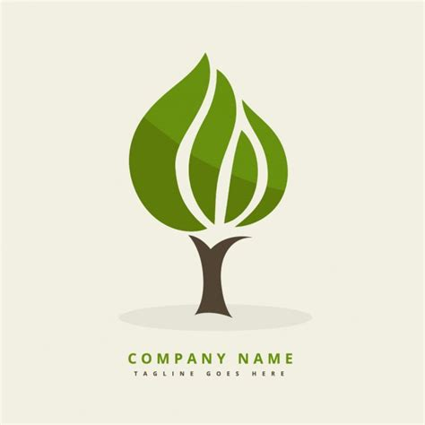 Logo With Abstract Tree Vector Free Logo With Abstract Tree Vector Free Download