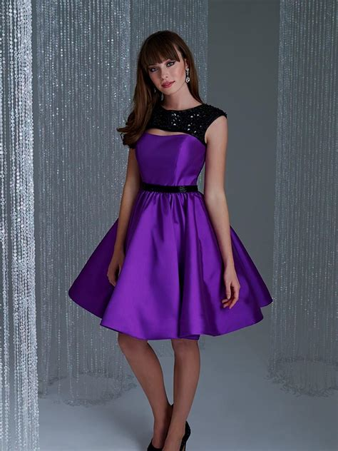 purple dress purple cocktail dresses with sleeves naf dresses