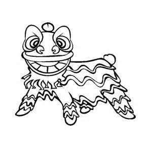 lion dance coloring page search