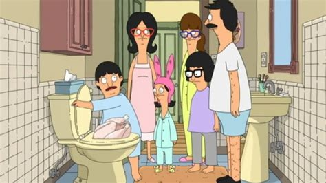 bobs burgers toilet bob s burgers turkey in a can episode 4 05 tv