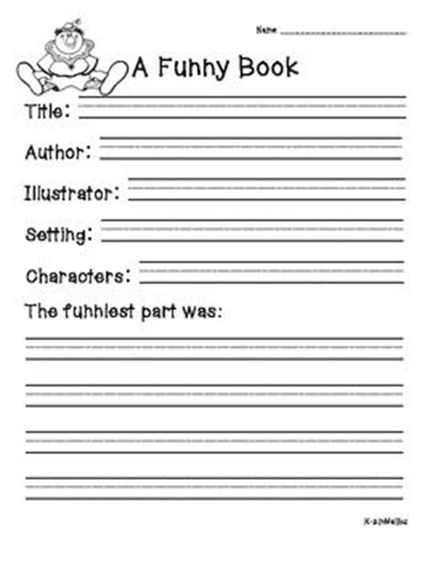 non fiction book report form book report forms fiction and non fiction book reports