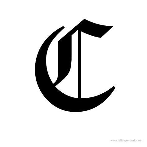 Letter For C 7 Best Images Of Letter C Various Fonts Different Fonts