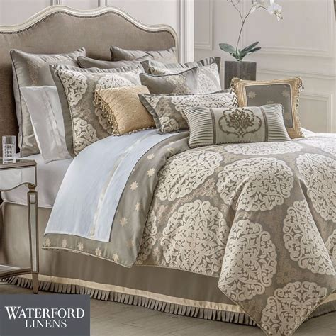 waterford comforter set new waterford linens darcy queen size 4 piece comforter