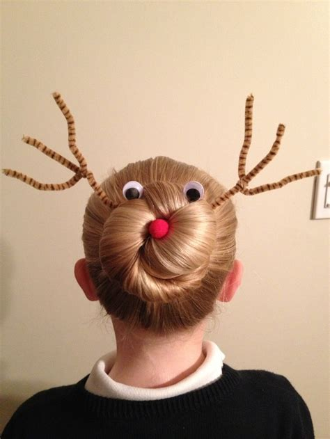 easy hairstyles for last day of school rudolph was an absolute hit the last day of school before
