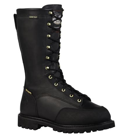 steel toe waterproof insulated miner boot g9310a