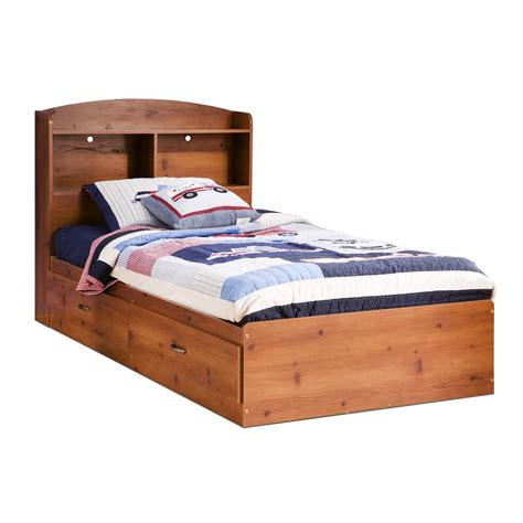 south shore furniture logik mates bed with bookcase