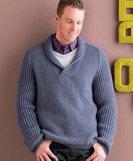 mens shawl collar sweater knitting pattern ravelry s shawl collar pullover pattern by mercedes