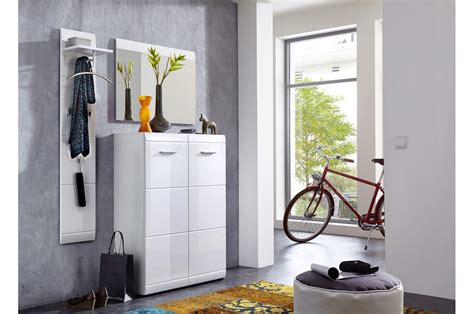 meubles pour d entr 233 e blanc brillant trendymobilier
