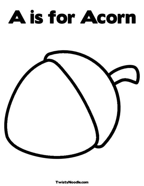 coloring page of acorn free coloring pages of acorn squash