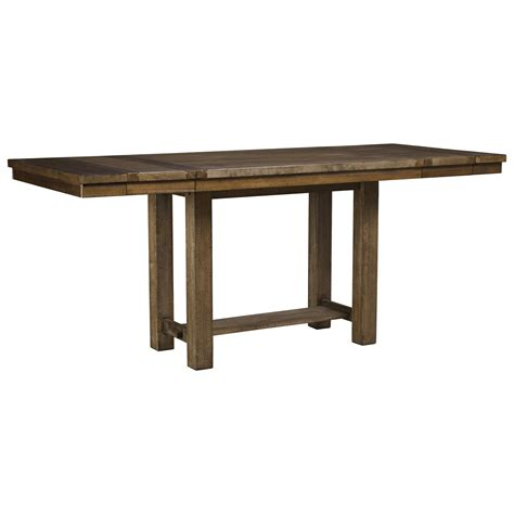 signature dining table signature design by moriville rectangular dining