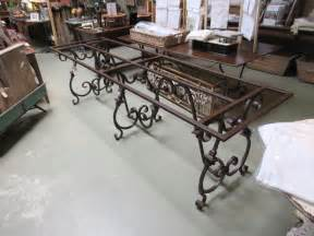 wrought iron dining room table base stocktonandco