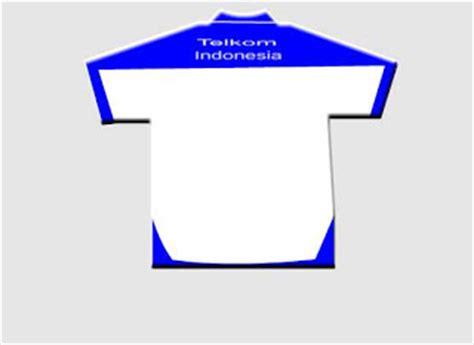 Kaos Logo Trans Putih kemeja telkom indonesia ganti seragam