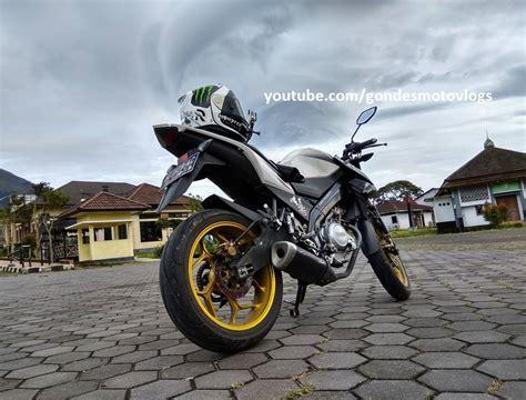 Shock Vixion New Yamaha cara meninggikan shock belakang motor new vixion