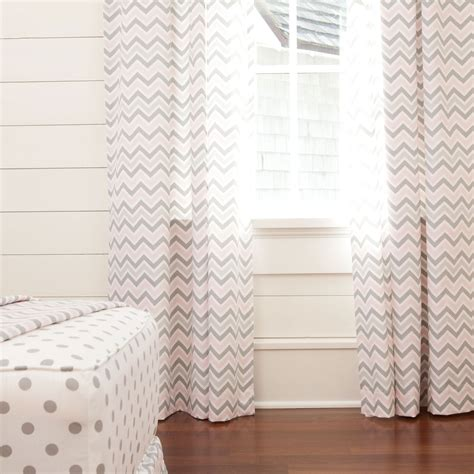 gray and pink curtains 40 chevron home accessories to shop around for