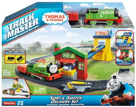 Diecast And Friends Motorized Railway friends trackmaster motorized railway sort switch delivery set