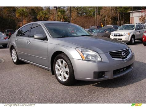 how things work cars 2007 nissan maxima electronic valve timing 2007 nissan maxima 3 5 sl in precision gray metallic 860181 jax sports cars cars for sale