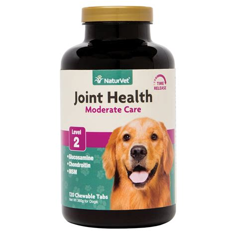 joint supplement for dogs naturvet joint health time release level 2 maximum hip joint supplement for dogs petco