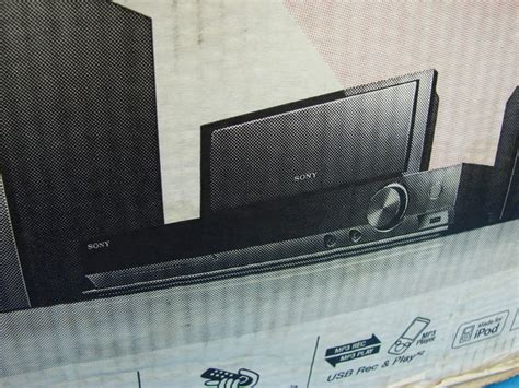 sony bravia dav dz170 dvd home theater surround sound