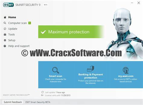 eset smart security full version crack eset nod32 antivirus 9 serial key crack free download