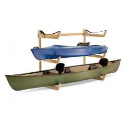 talic bunk kayak or canoe storage rack