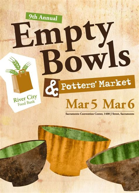 River Food Pantry Wi by Win Tickets To Next Week S River City Food Bank Quot Empty Bowls Quot Event Quot Cowtown Eats