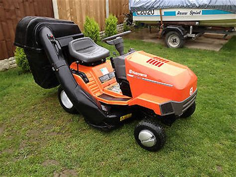 Ride On Mower Husqvarna Lt100 Twin Cut Lawnmowers Shop