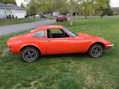 1973 Opel Gt by 1973 Opel Gt Original Survivor Nearly Rust Free