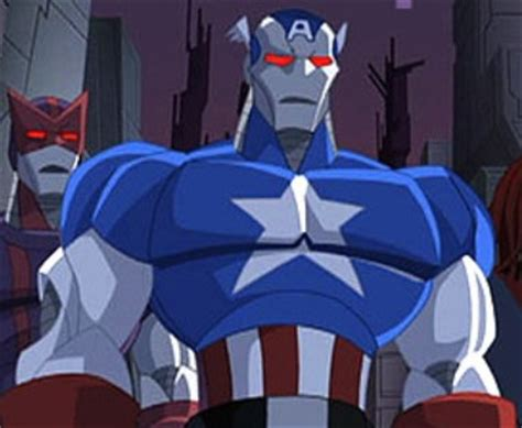 Robot Mobil Captain America captain america robot earth 555326 marvel comics database