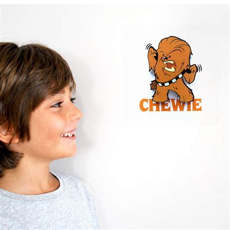 kinder schlafzimmerbeleuchtung wars mini 3d wand deko licht chewbacca kinder