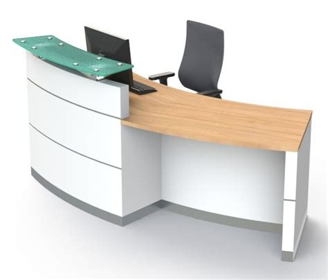 Dda Reception Desk Elite Ebk3 Dda Reception Desk Flush Plinth Reality