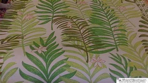 Fern Decor by 1970 S Vintage Tropical Fern Wallpaper Pattern Design