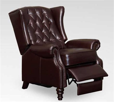 use of the wing back recliner for the looks of your