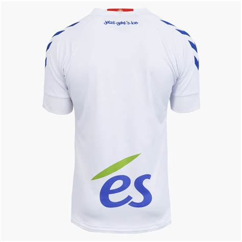 Obral Jersey Go Racing Club Home 17 18 plastered by sponsors unique hummel rc strasbourg 17 18 ligue 1 home away third kits